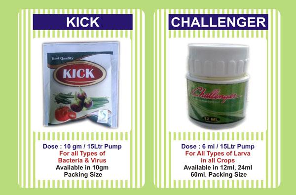 Kick, Challenger